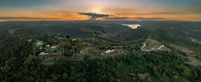 Aerial photo - Balmoral Ridge & Lake Baroon